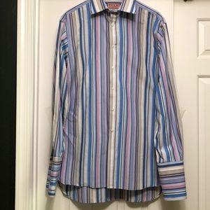 Thomas Pink Superfine Two Fold French Cuff Shirt
